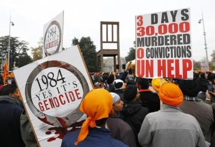 attack on sikhs 1984