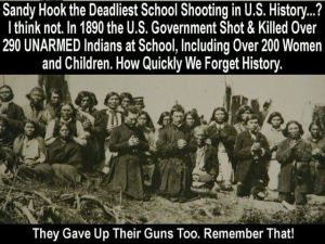 200 unarmed Indians