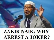 zakir naik-why arrest