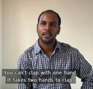 7.1. You can't clap with one hand