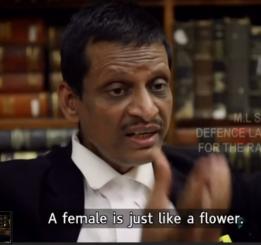 8. A female is like a flower