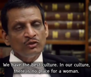 india's daughter- lawyer Sharma No place for a woman