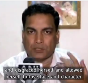 india's daughter- lose face and character