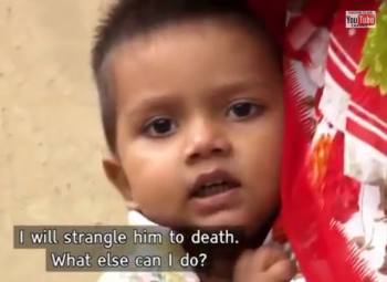 india's daughter-will strangle him to death what else can I do