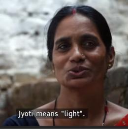 Jyoti means light-1