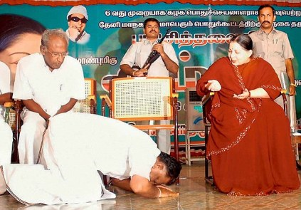 PannerSelvam prostrating
