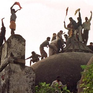 Babar Masjid demolition