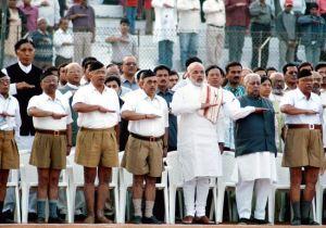 Modi in RSS Uniform