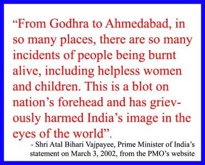 Vajpayee on Modi