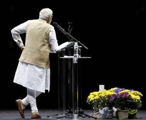 Modi as Lord Krishna