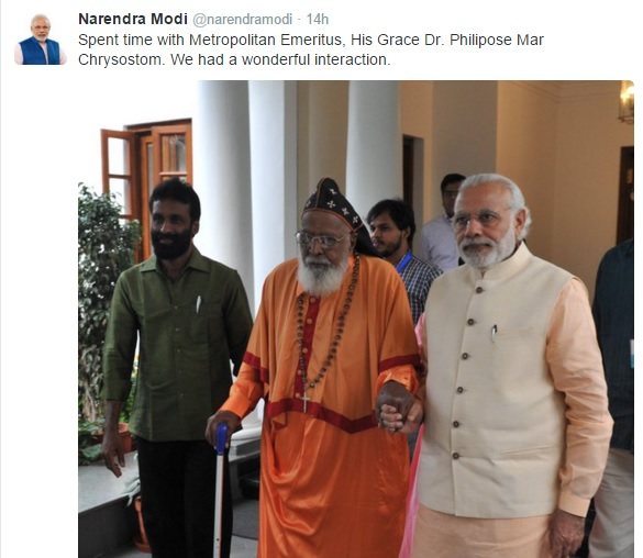 His grace and PM