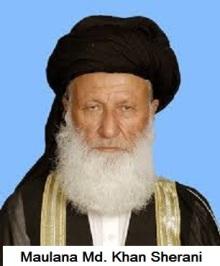Maulana Muhammad Khan Sherani - beat women lightly