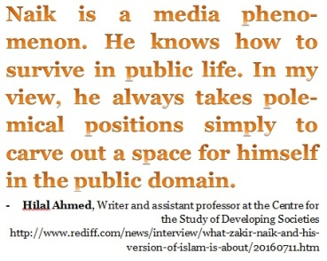 Zakir Naik a media phenomenon