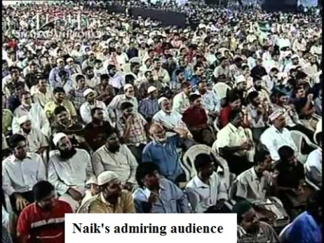 Zakir Naik audience