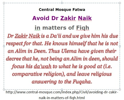 Zakir Naik - avoid him