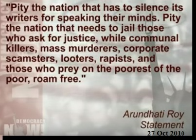 Arundhati Pity the Nation