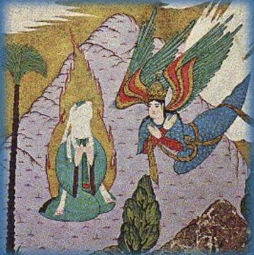 Islam Gabriel and Muhammad