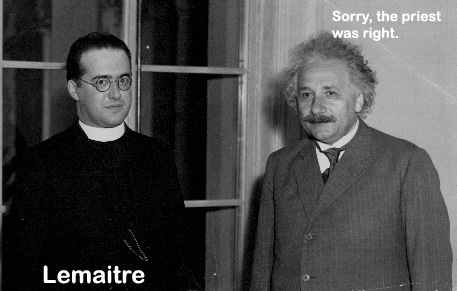 Georges Lemaitre and Einstein