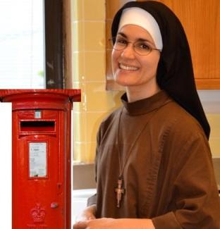 Catholic nun red